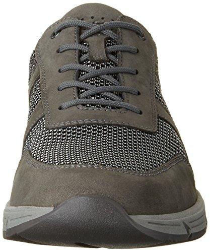 Waldläufer Herren Haslo Sneakers Mehrfarbig (asphalt silber)