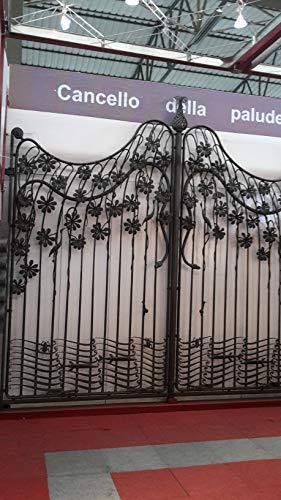 Cancello della palude in ferro battuto