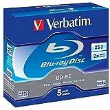Verbatim 43615 BD-RE 2 x 5-pack Blu-Ray Optical Media