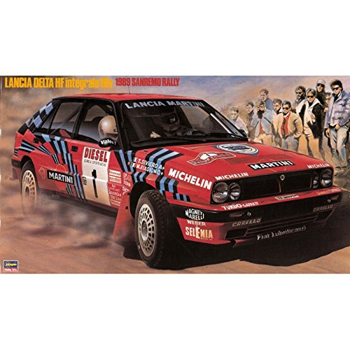 Hasegawa hmcr08Lancia Delta HF Integrale 16V 1989San Remo Rally Model Kit, Maßstab 1: 24 (1 24 Scale Model Kits)