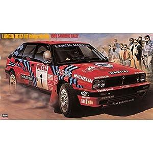 Hasegawa HMCR08 Lancia Delta HF Integrale 16 V 1989 San Remo Rally Kit de Modelo, Escala 1:24