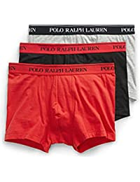 Polo Ralph Lauren Pants 3pk Black/An Hthr/Red, Short Homme