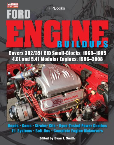 Ford Engine Buildups HP1531: Covers 302/351 CID Small-Blocks, 1968-1995 4.6L and 5.4L Modular Engines, 1996-2 008; Heads, Cams, Stroker Kits, Dyno-Tested ... F.I. Systems, Bolt-On (English Edition) - J-bolt Kit