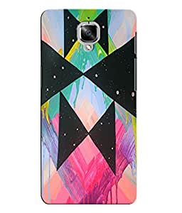 Citydreamz Abstract Creative Modern Art Hard Polycarbonate Designer Back Case Cover For OnePlus 3