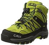 CMP Unisex-Kinder Rigel Mid WP Trekking-& Wanderstiefel, Grün (Lime Green-Graffite), 31 EU