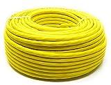 50.0M - Cat.7A + (Cat 8) Ethernet Netzwerk Lan Kabelrolle 1500 MHz - 4 Paar - Hochgeschwindigkeit - Halogenfrei / Kupfer / Super Fast - (PoE) / PoE +