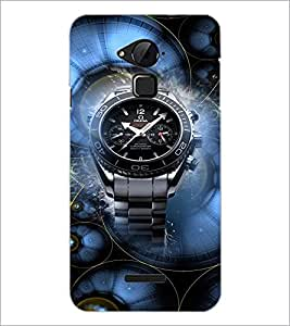 PrintDhaba Watch D-3054 Back Case Cover for COOLPAD NOTE 3 LITE (Multi-Coloured)