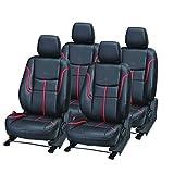 #4: Pegasus Premium PU Leather BLACK RED Car Seat Cover For Honda Brv