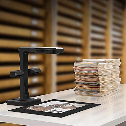 CZUR ET16 Plus Scanner mit Einknopf-Bedienung Dokumentenscanner für Bücher Dokumente Materialien Bilder - 6