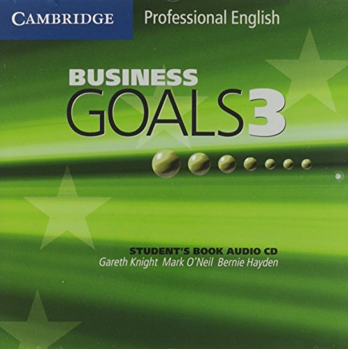 Business Goals 3 Audio CD (Cambridge Professional English) by Gareth Knight (2005-05-16)