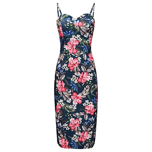 Joe Browns Sexy Hawaiian Senorita, Robe Femme Bleu - Blue (A-Navy Multi)