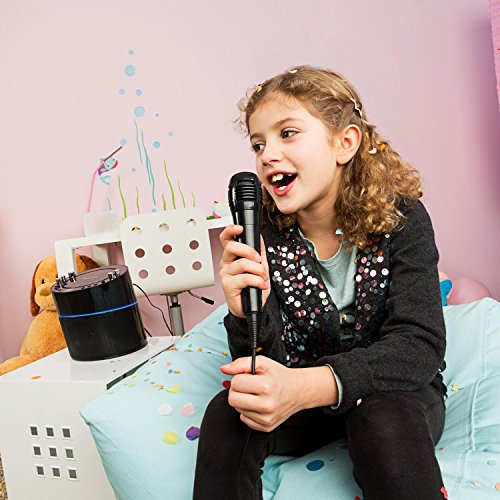 auna KS-1 Starlet • Kinder Karaoke Anlage • Karaoke Player • Karaoke Set • inkl. 1 x dynamisches Mikrofon • 2 x Mikrofonanschluss • CD+G-Player • inkl. Karaoke CD • Echo-Effekt • A.V.C. Funktion • Video- und Audio-Ausgang • programmierbar • schwarz - 3