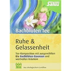 Salus Bachblüten-Tee Ruhe und Gelassenheit Bio 15 FB, 2er Pack (2 x 30 g)