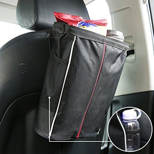 Preisvergleich Produktbild Foldable Vehicle Hang Trash Bag, EFORCAR Auto zurück Sitztasche Wasserdichte Reise Auto Müllsack