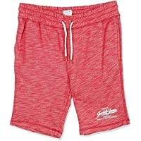 Jack & Jones Men's Jjemelange Sts Sweat Shorts, in Tango Red, Size: Small