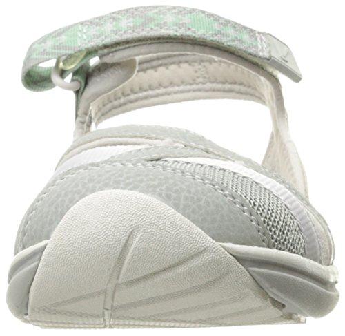 Keen Sage Ankle W, Sandales Plateforme Femme Gris (Neutral Gray/malachite)