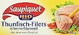Saupiquet Thunfisch Filet in Sonnenblumenöl, 10er Pack (10 x 2 x 80 g Dose)