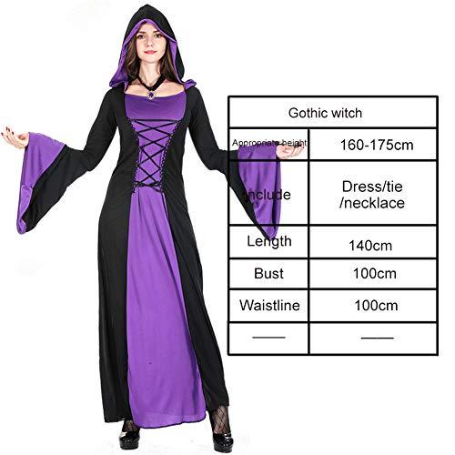 Charakter Dress Up Ideen - Luckyli Vampir Halloween Mantel Cosplay Kostüm