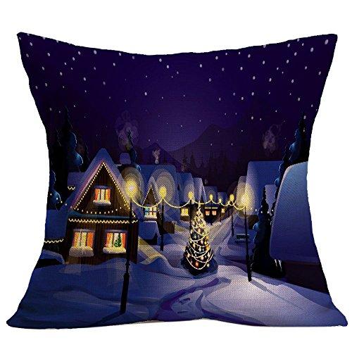 (Lucky Mall Weihnachts Mode Kissenbezug Sofa Throw Kissenbezug Home Decor)