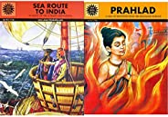 Sea Route to India (Amar Chitra Katha) + Prahlad (Amar Chitra Katha) (Set of 2 Books)