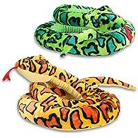 XL de peluche super suave de la serpiente