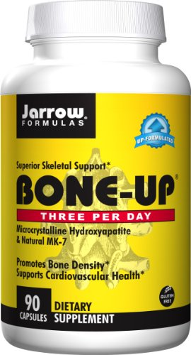 Jarrow Formulas Bone-Up Three Per Day, Promotes Bone Density, 90 Caps (Bone Formula)