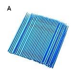 Micro applicatore di pennelli usa e getta con tamponi applicatori per denti/orali/trucco, 100 pezzi