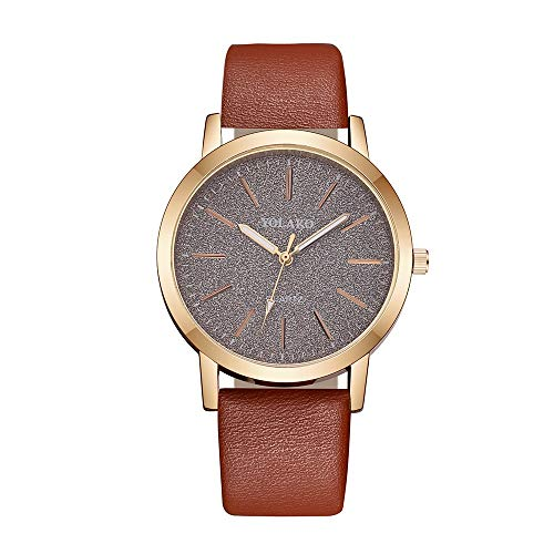koperras Women Collection Wrist Watch,Women's Casual Quartz Leather Band Sky Analog Watch