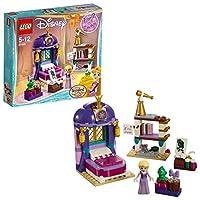 Rivivi le avventure della Principessa Disney Rapunzel in LEGO® l Disney La cameretta nel castello di Rapunzel 41156 mentre il re cerca di trattenerla nel regno di Corona. Aiutala a distrarsi leggendo i libri della sua libreria, usando il suo ...