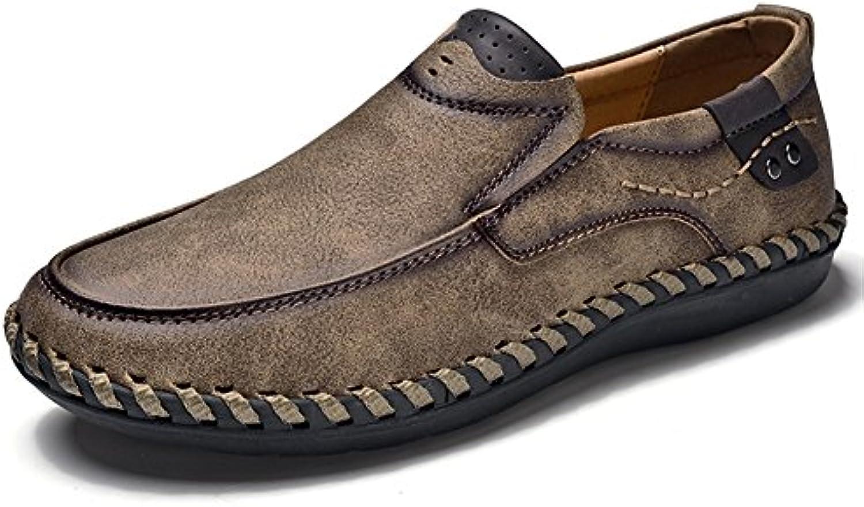 XUE Herrenschuhe Leder Frühling Sommer Komfort Turnschuhe Wanderschuhe Loafers  SlipOns Fahr Schuhe für Casual