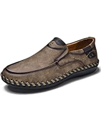 XUE 2018 Nuevos Zapatos de Hombre de Microfibra Primavera Otoño Confort Zapatos Atléticos Mocasines y Slip-Ons Zapatos