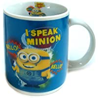 Taza de café de minion de Gru I Speak Bello taza! Bello! Taza de cerámica taza de Despicable Me