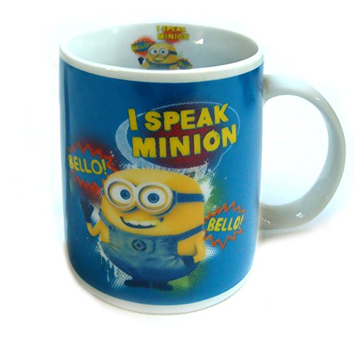 Minions Tasse I Speak Minion Kaffeetasse Bello! Bello! Keramik Becher Mug Despicable Me