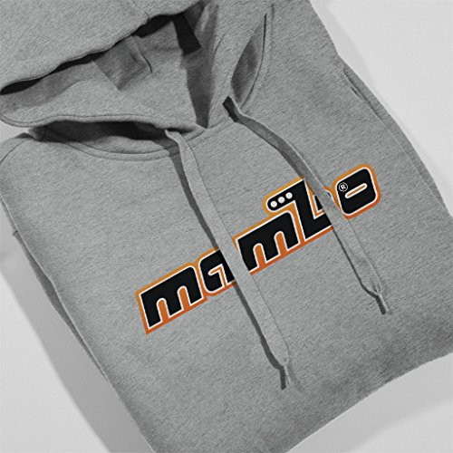 Mambo Retro Men's Hooded Sweatshirt Heather Grey