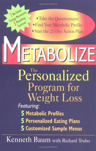 Metabolize: The Personalized Program for Weight Loss by Richard Trubo (2001-11-19)