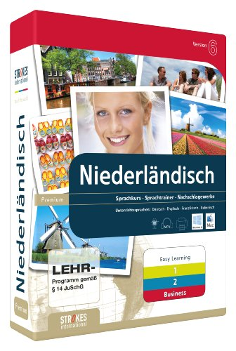 Strokes Easy Learning Niederländisch 1+2+Business Version 6.0