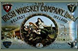 Froy Irish Whiskey Company Belfast Irlanda Wand Blechschild