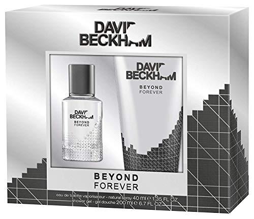 David Beckham Geschenkset Beyond Forever EdT 40ml + Shower Gel 200ml, 1er Pack (1 x 240 ml) - Elemis Auge