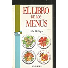 Libro de los menus