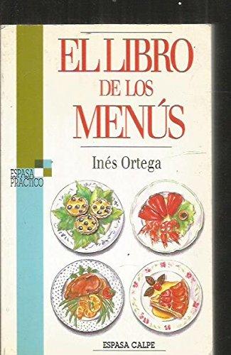 El libro de los menús por INES ORTEGA