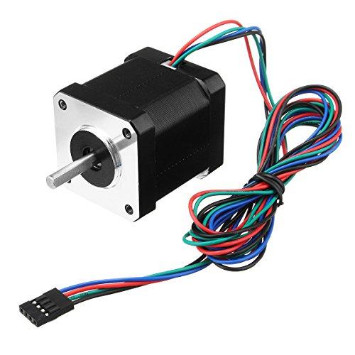 Ils - NEMA17 59Ncm 2A 1.8 ° 4-Führen 48mm Schrittmotor für 3D Drucker