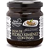 Salsas Asturianas Salsa Pedro Ximenez - 215 gr - [Pack de 6]
