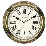 Towcester Clock Works Co. Acctim 26708 Redbourn Wanduhr, Gold