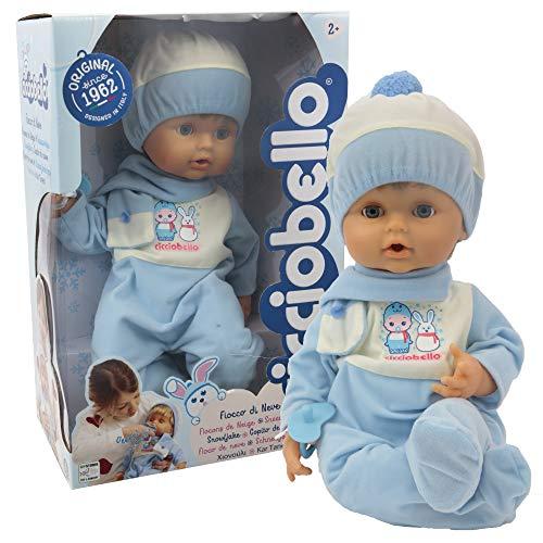 Giochi Preziosi Cicciobello Fiocco di Neve Bambolotto per Bambini