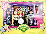 Cabbage Patch Kids - Mini Dolls 18cm - Exclusive Pop Star Stage - Interactive Concert Stage for Pop Star Girls
