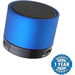 Drumstone Mini Bluetooth Wireless Speaker (S10) Works with all Android or Iphone Devices (1 Year Warranty, Color May Vary)
