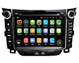 7 Zoll 2 Din Android 5.1.1 Lollipop OS Autoradio für Hyundai I30 2011 2012 2013 2014,DAB+ radio kapazitiver Touchscreen mit Quad Core 1.6G Cortex A9 CPU 16G Flash und 1G DDR3 RAM GPS Navi Radio DVD Player 3G/WIFI Aux Input OBD2 USB/SD DVR