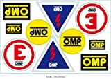 OMP ompx/846Set adesivi x per extinctor