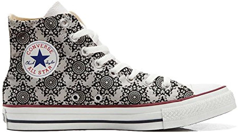 Converse All Star Hi Customized personalisierte Schuhe (Handwerk Schuhe) Back Groud Abstract