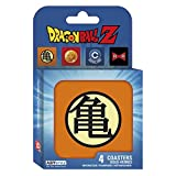 ABYstyle - Marvel Dragon Ball Set 4 Untersetzer Symbols unisex-adult, abycos003